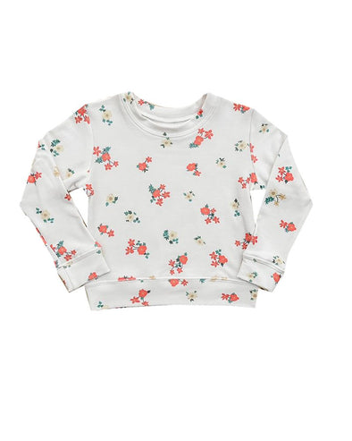 MINI FLORAL SWEATSHIRT