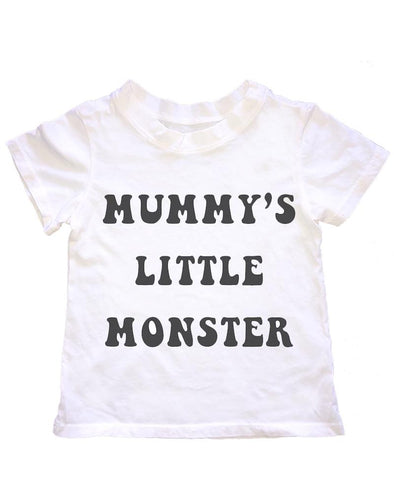 MUMMY'S LITTLE MONSTER TEE