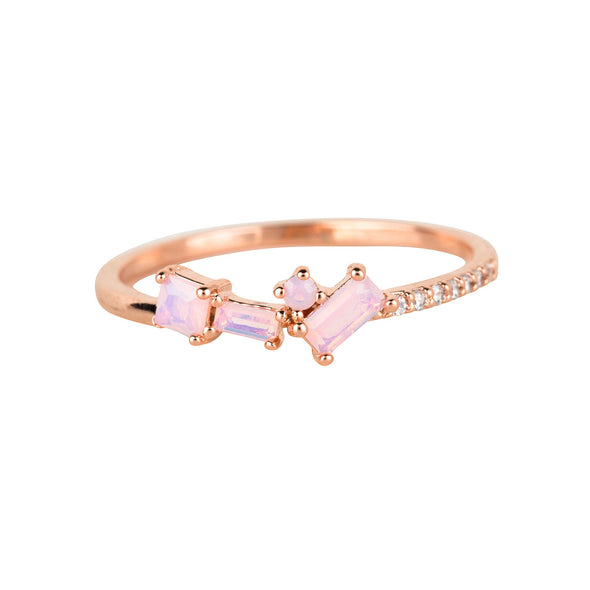 CHARMING ROSE RING ROSE GOLD