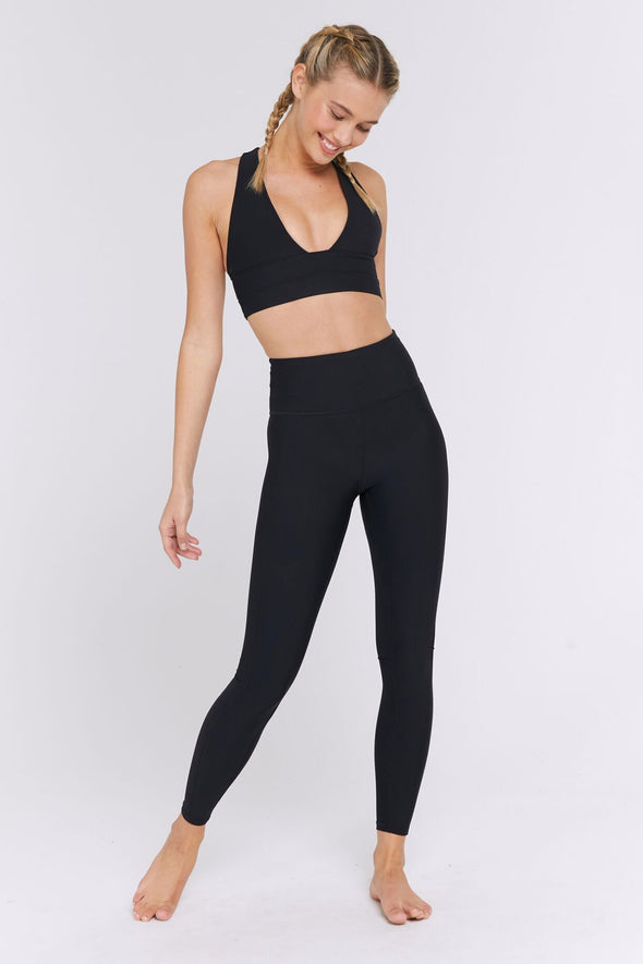 TULUM HIGH WAISTED LEGGING - BLACK