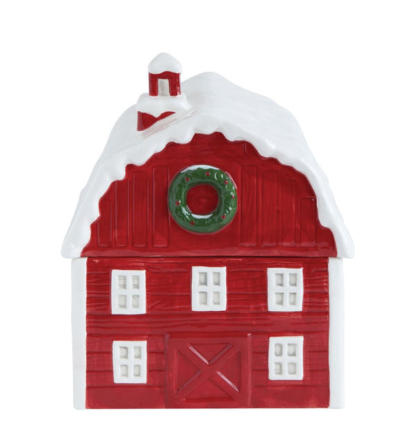 CERAMIC BARN COOKIE JAR