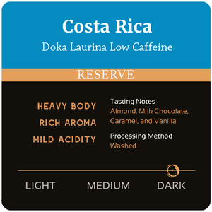 Costa Rica Doka Laurina Low Caffeine