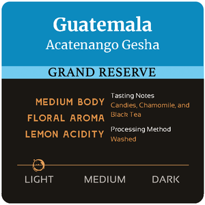 Guatemala Acatenango Gesha - Sold Out