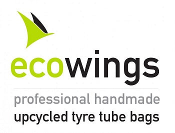 Ecowings upcycled logo