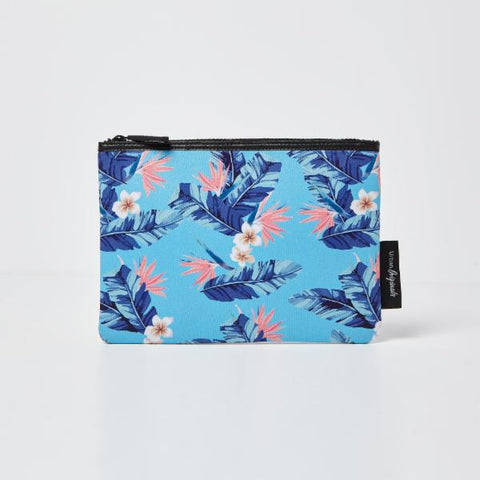 Urban Originals Starlet Pouch/Beauty Bag - Floral Blue