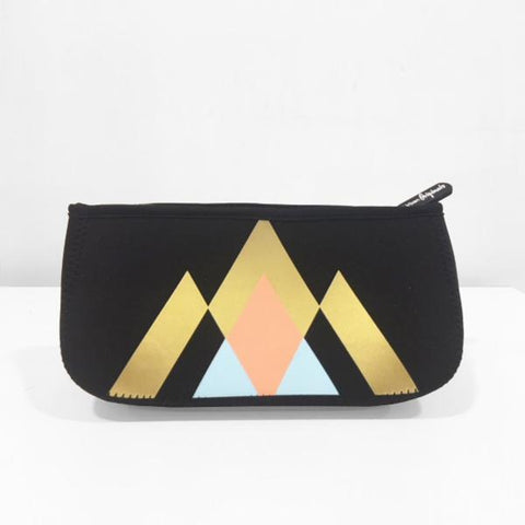 Urban Originals Goddess Beauty Bag - Geometric Black
