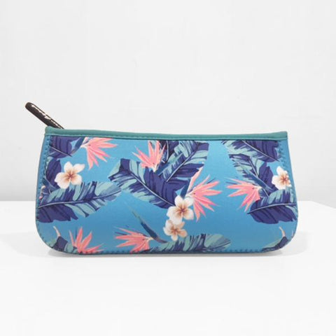 Urban Originals Goddess Beauty Bag - Floral Blue