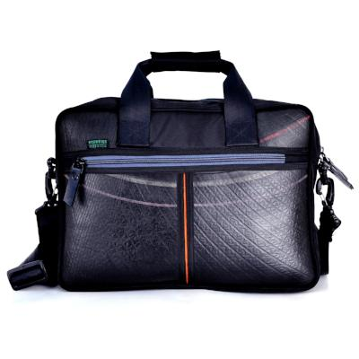 Ecowings 'Panda' Mens Laptop/Office Bag - BLACK/GREY