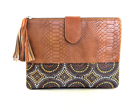 Mash Accessories Bhuvika Indigenous Vegan Friendly Travel Clutch
