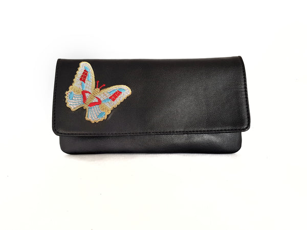 Mash Accessories Butterfly Vegan Clutch