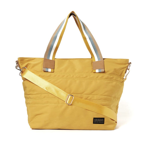 Urban Originals Hear the Music Vegan Tote Bag - Yellow
