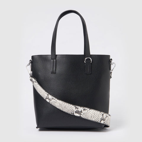 Urban Originals Vegan Leather Mini New Dawn Tote - Black