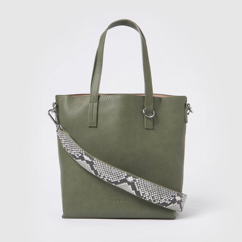 Urban Originals Vegan Leather Mini New Dawn Tote - Green