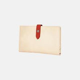 Urban Originals New Shadow Vegan Leather Wallet  STONE/RED