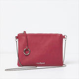 Urban Originals Sweet Talk Crossbody Vegan Leather Bag CRANBERRY