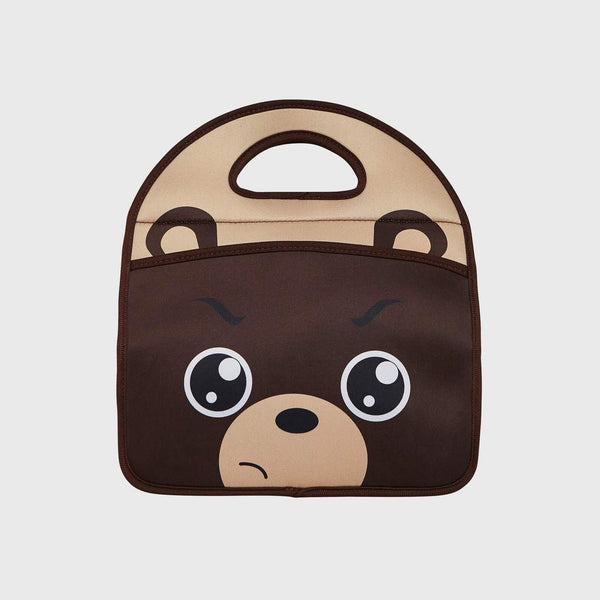 Fearsome Animal Friends Lunch Bag - Grumpy Bear
