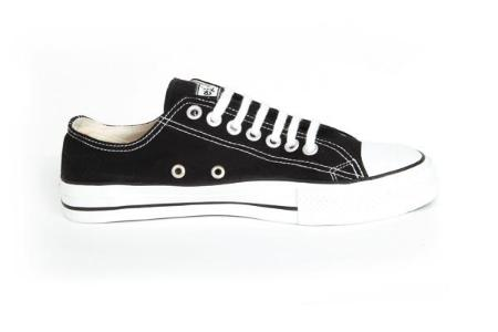 Etiko Organic Fairtrade Sneakers Lowcuts Black & White