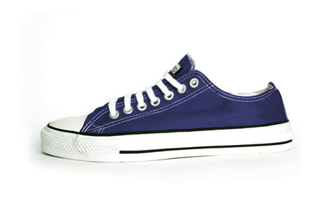 Etiko Organic Fairtrade Sneakers Lowcuts Blue