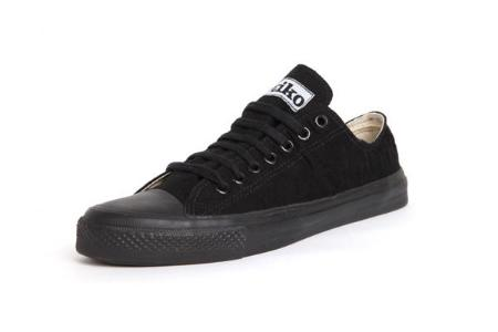 Etiko Organic Fairtrade Sneakers Lowcuts All Black