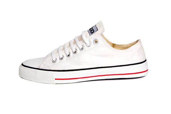 Etiko Organic Fairtrade Sneakers Lowcuts White