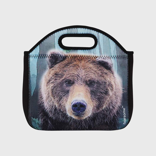 Fearsome Into The Wild Lunch Bag - Bear
