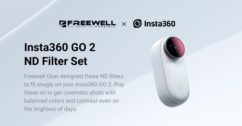 Insta360 Go 2 ND Filter Set   Freewell   Southern Sun Drones