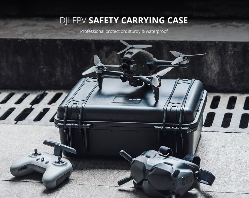 Safety Case for DJI FPV Drone | PgyTech | Southern Sun Drones