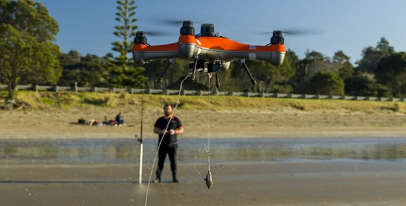 Fisherman drone | Swellpro | Southern Sun Drones