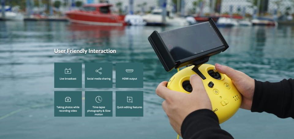M2 Underwater Drone | Chasing | Southern Sun Drones