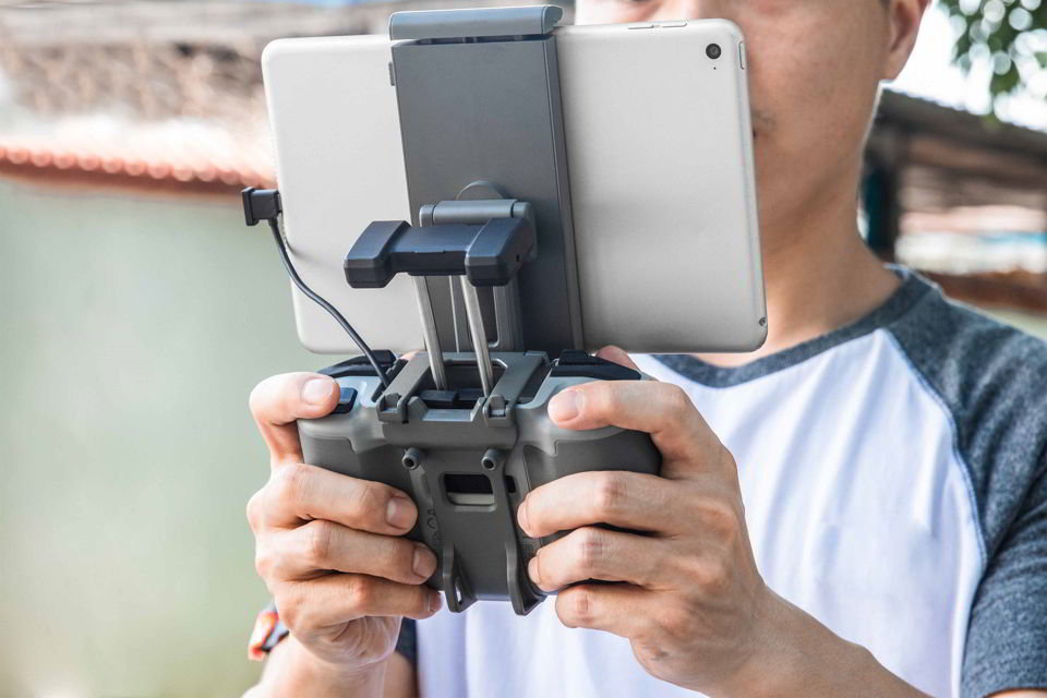 Remote Control Tablet Holder | DJI RC-N1 | Southern Sun Drones