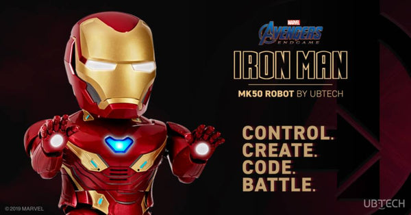 Iron Man MK50 Robot Control Create Code Battle