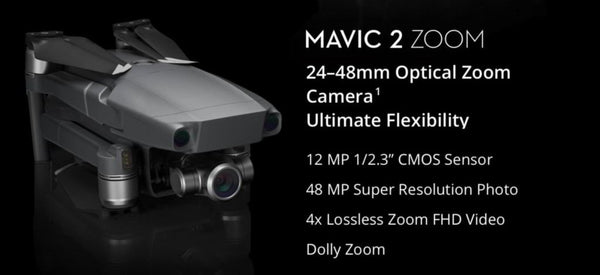 Mavic 2 Camera Summary