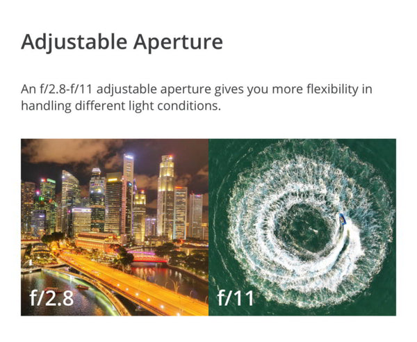 adjustable aperture