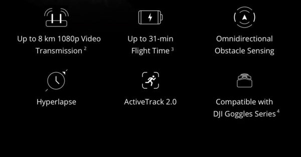 mavic 2 key features
