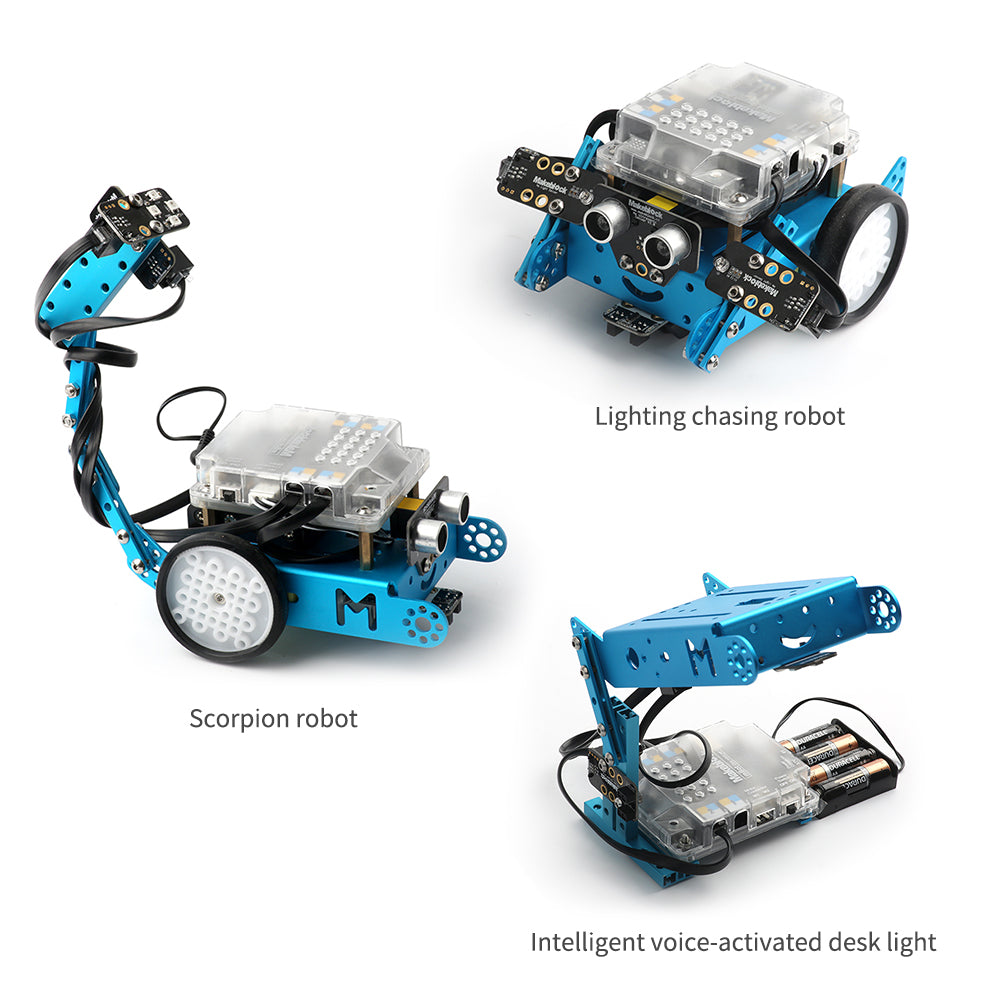 mbot light and sound pack variants
