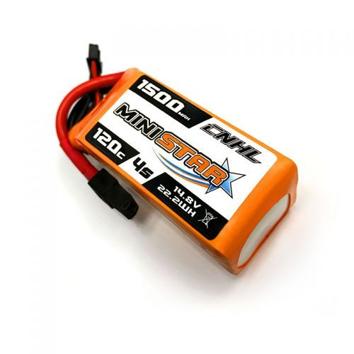 Racing Drone Battery | CNHL MiniStar 1500mAh 4S 14.8V 120C