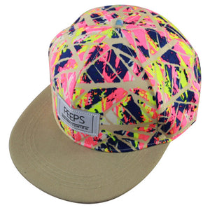 2017 New Fashion PEEPS Baseball Caps Snapback Flat Brim Hat Street Dance Gift Hip Hop Hats for Men and Women - Habit Stop