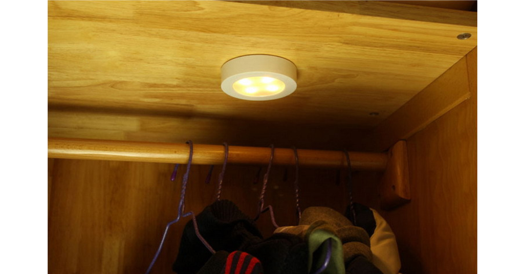 LED Luminous Corridor Wardrobe Bedside Lamp