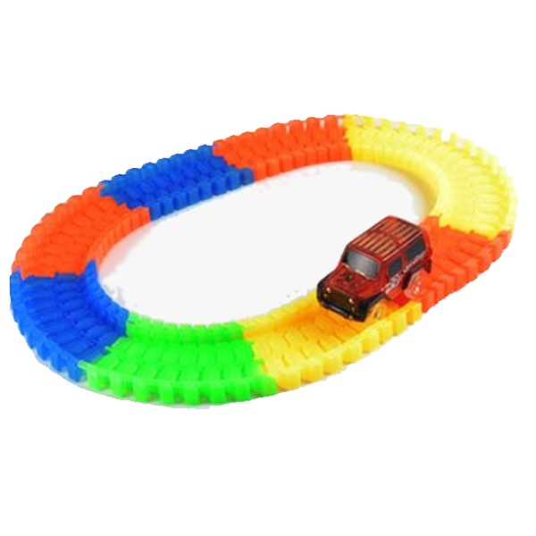 Magic Rainbow Racetrack - Best Seller - Black Friday Special - Deal Ends Soon