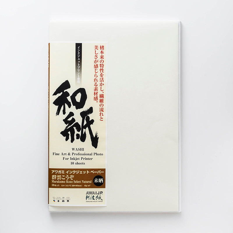 Murakumo Kozo - Natural (Parchment-like)