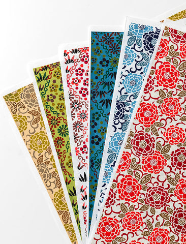 NEW - Katazome Papers (5 Sheets)