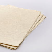 Handmade Tesuki Art Sheets - Thick Natural (Set of 3)