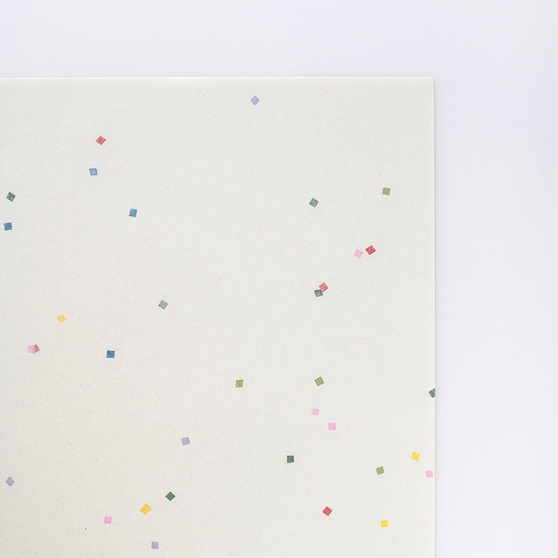 A4 Washi Paper Pack - 'Tanabata' Confetti Inclusions (20 sheets)
