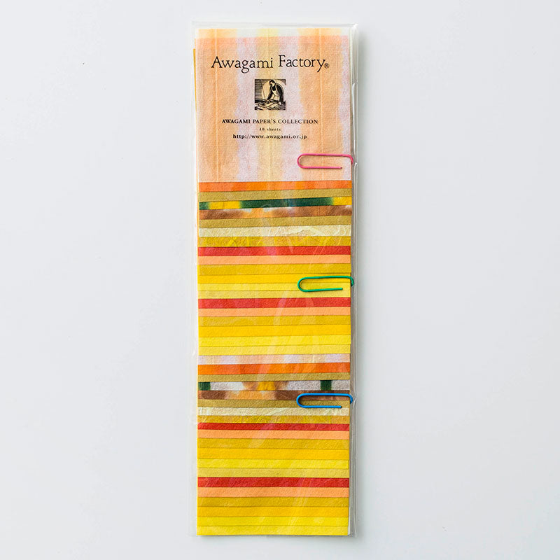 Awagami Collection Colored Washi Sets