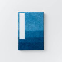 Orihon Large Indigo Accordion Book - Danzome Pattern