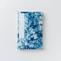 Orihon Large Indigo Accordion Book - Bokashi Pattern