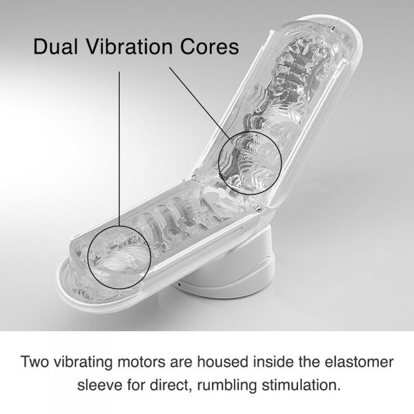 Tenga Flip Zero Electronic Vibrating Penis Milker Male Masturbation Toy - PleasureYouPleasureMe