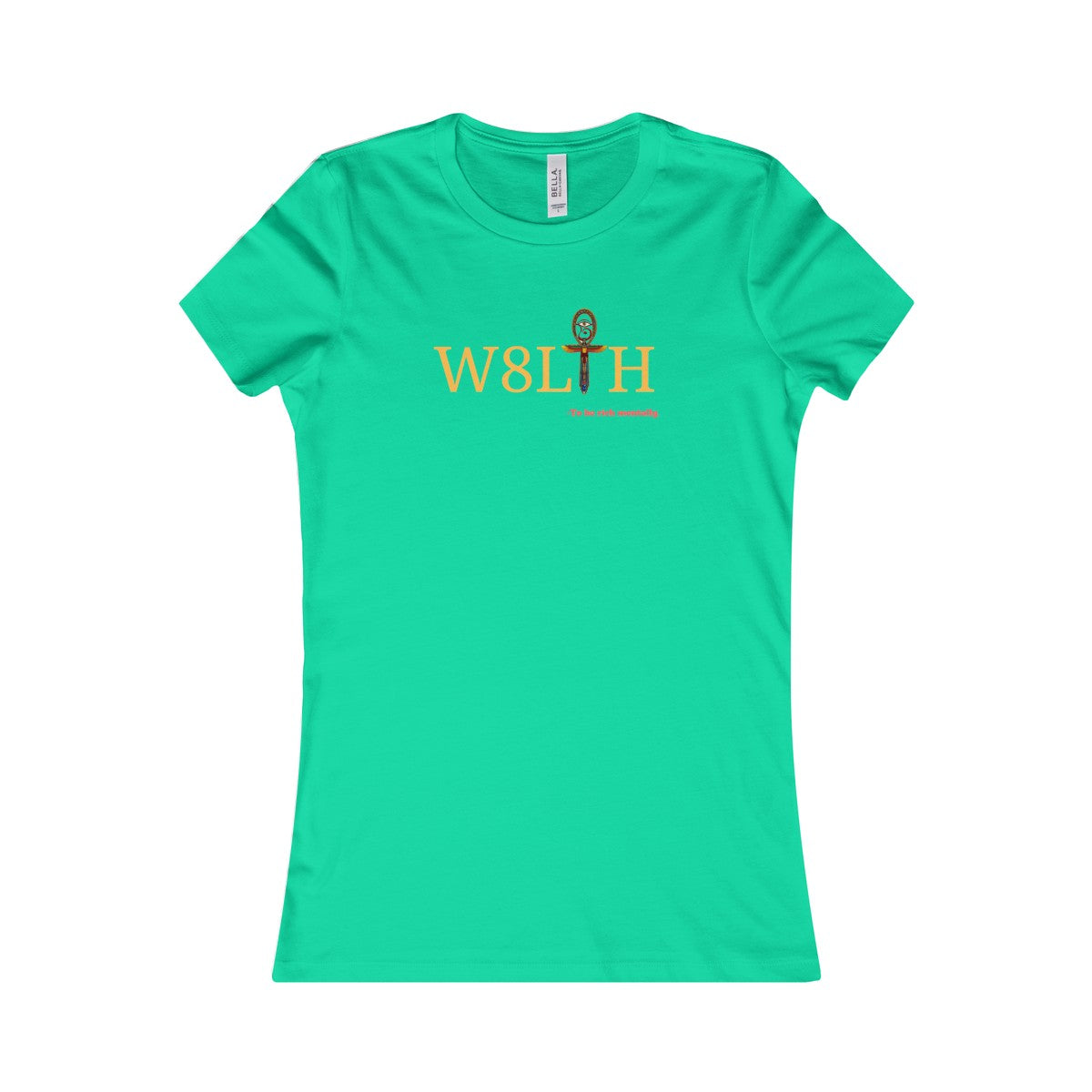Women's Wealth Ankh Tee - Flavorsofwealth