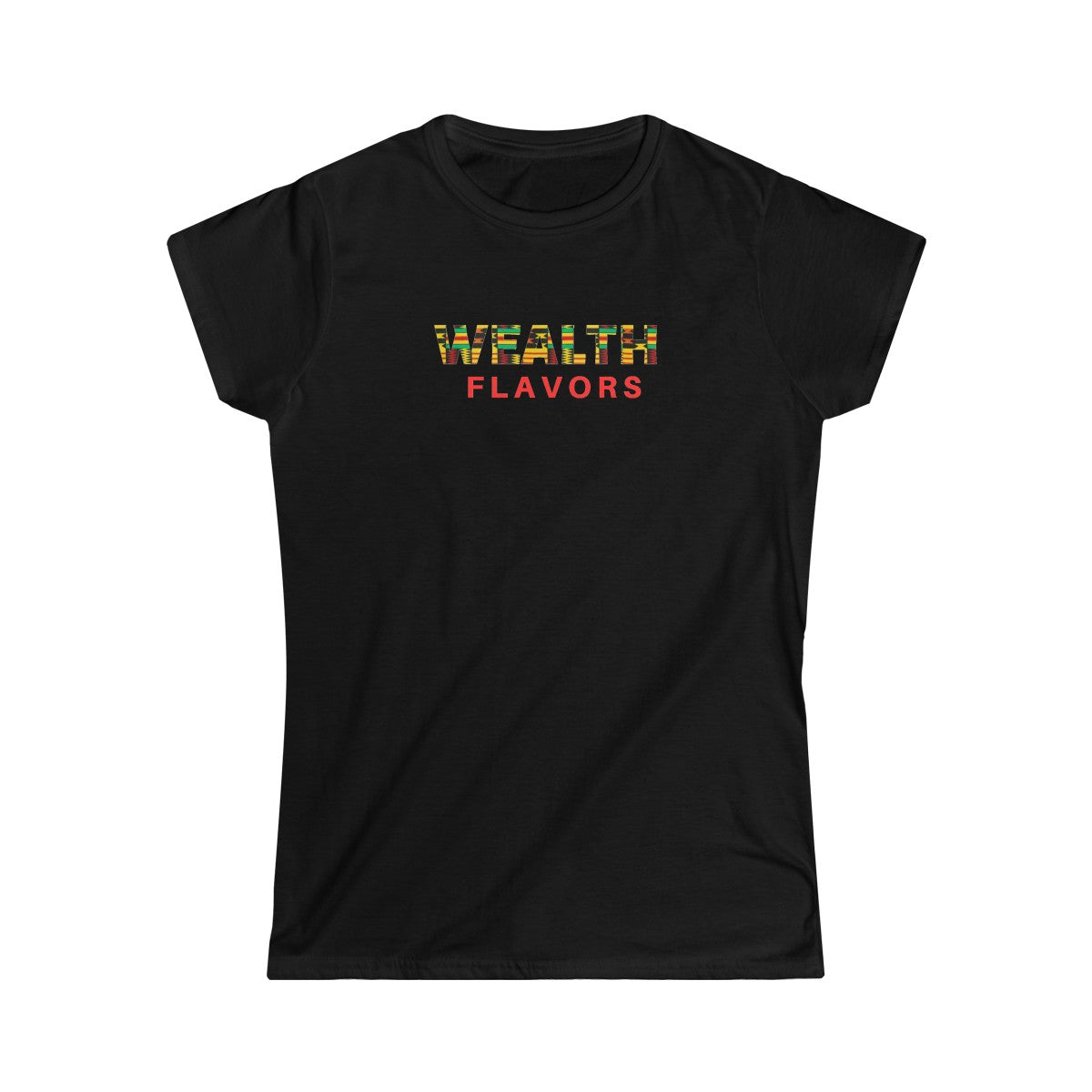 Wealth Flavors Women's Softstyle Tee - Flavorsofwealth