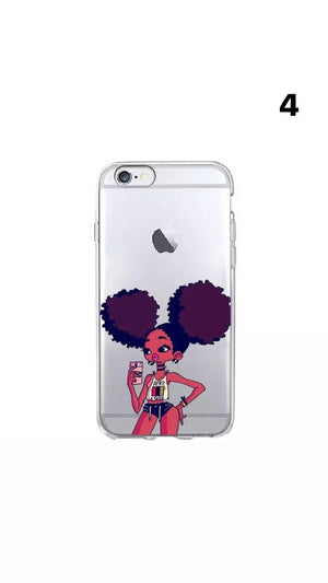 Wealth lady iPhone case - Flavorsofwealth